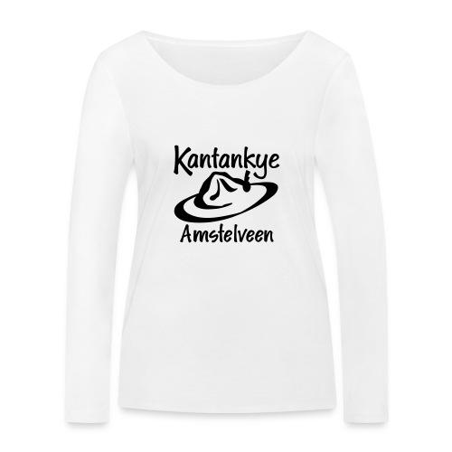 logo naam hoed amstelveen - Vrouwen bio shirt met lange mouwen van Stanley & Stella
