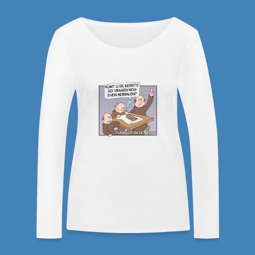 Pubquiz in de Abdij - Vrouwen bio shirt met lange mouwen van Stanley & Stella
