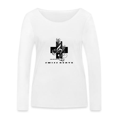 Swiss Beatz Logo with L - Frauen Bio-Langarmshirt von Stanley & Stella