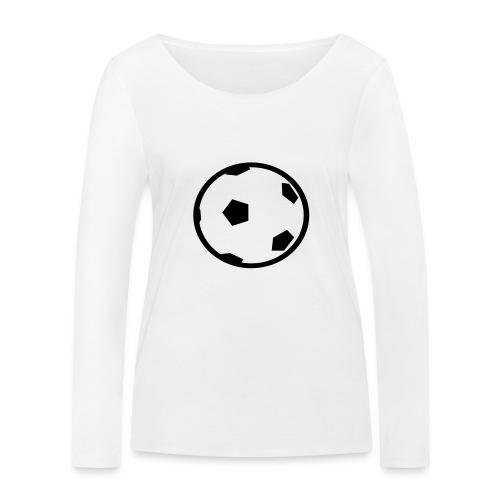 Unterwasser-Rugby Ball - Frauen Bio-Langarmshirt von Stanley & Stella