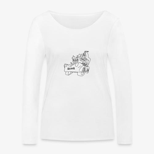 gova dinos - T-shirt manches longues bio Stanley & Stella Femme