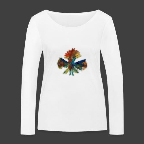 Mayas bird - Women's Organic Longsleeve Shirt by Stanley & Stella