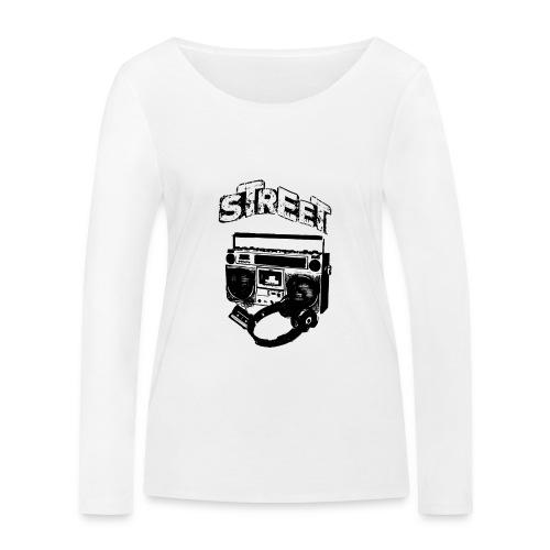 street 1 - Økologisk Stanley & Stella langærmet T-shirt til damer