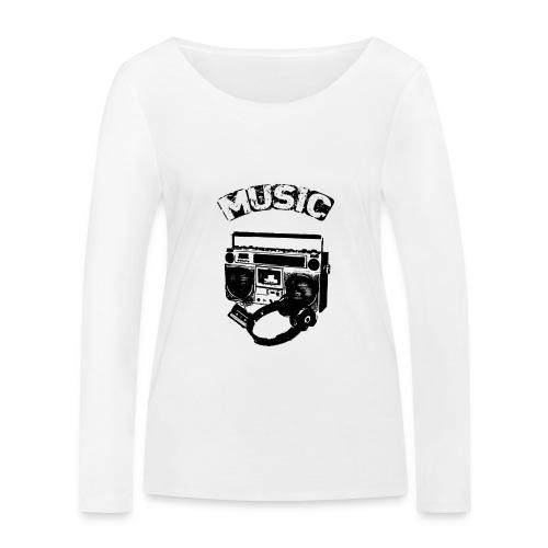 musik1 - Økologisk Stanley & Stella langærmet T-shirt til damer