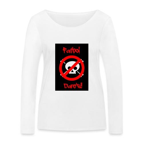 Fatboi Dares's logo - Women's Organic Longsleeve Shirt by Stanley & Stella