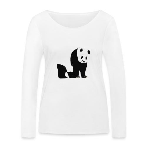 Panda - Stanley & Stellan naisten pitkähihainen luomupaita