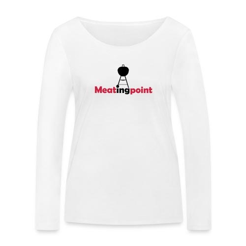 Meatingpoint Grill - Frauen Bio-Langarmshirt von Stanley & Stella