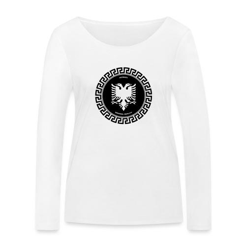 Patrioti Medusa - Frauen Bio-Langarmshirt von Stanley & Stella