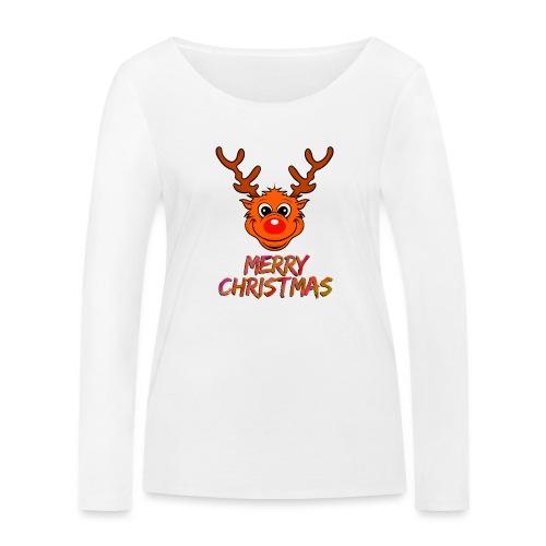 Rudolph - Frauen Bio-Langarmshirt von Stanley & Stella
