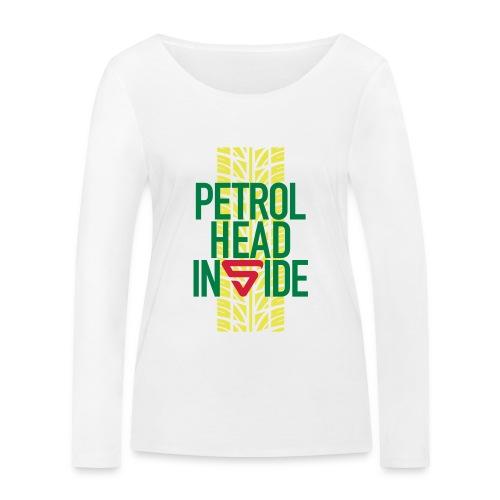 Petrolhead inside - T-shirt manches longues bio Stanley & Stella Femme