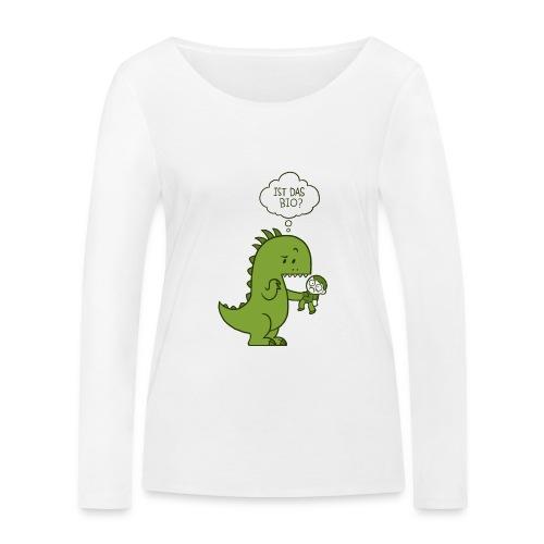 Bio-Dinosaurier - Frauen Bio-Langarmshirt von Stanley & Stella