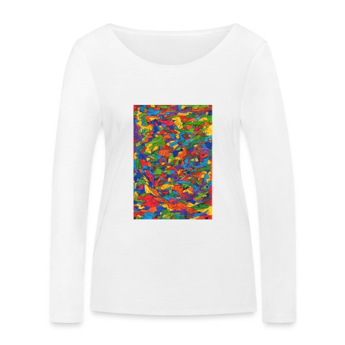 Color_Style - Camiseta de manga larga ecológica mujer de Stanley & Stella