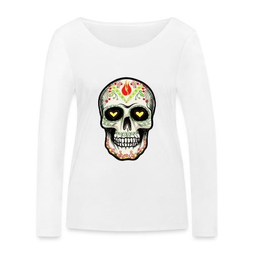 TETE DE MORT 1 - T-shirt manches longues bio Stanley & Stella Femme