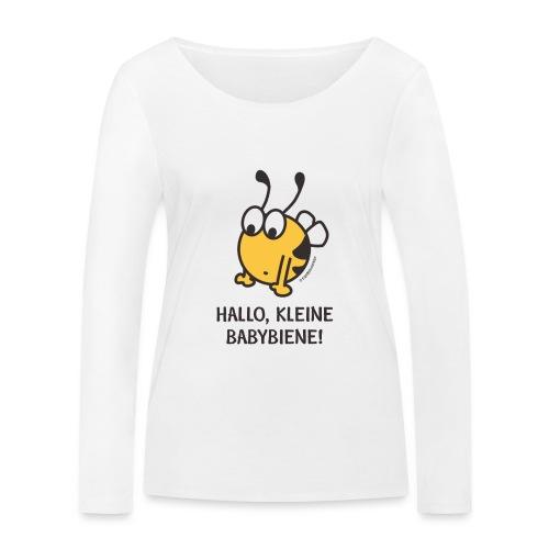 Hallo, kleine Babybiene! - Frauen Bio-Langarmshirt von Stanley & Stella