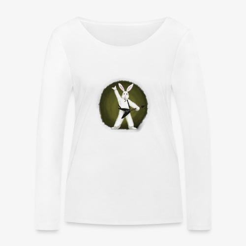Metal Bunny - Økologisk langermet T-skjorte for kvinner fra Stanley & Stella