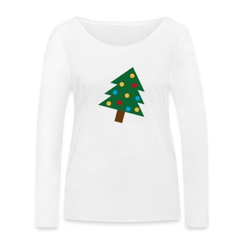 Weihnachtsbaum für hässliche Weihnachten - Frauen Bio-Langarmshirt von Stanley & Stella