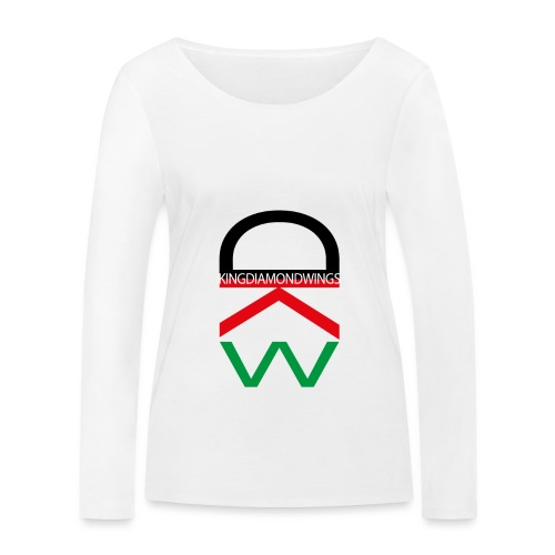 King Diamond Wings Colored Logo - Women's Organic Longsleeve Shirt by Stanley & Stella