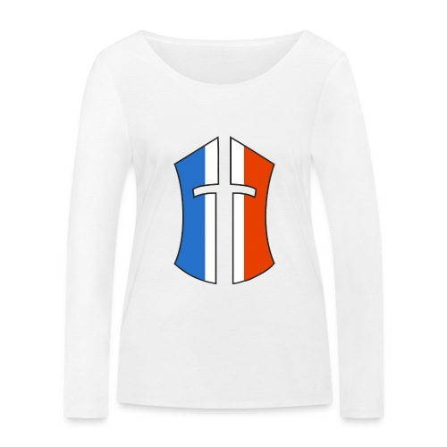 Logo Battle of the Nations France - T-shirt manches longues bio Stanley & Stella Femme