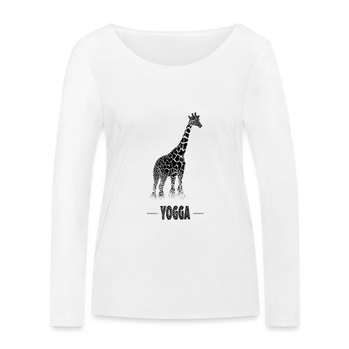 Girafe (E) - T-shirt manches longues bio Stanley & Stella Femme
