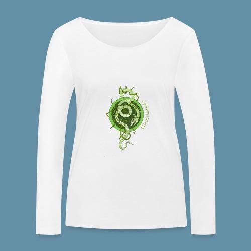 Jormungand logo png - Maglietta a manica lunga ecologica da donna di Stanley & Stella