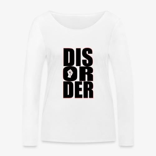 Disorder Logo Schwarz - Frauen Bio-Langarmshirt von Stanley & Stella