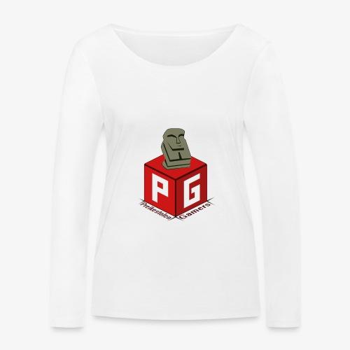 Preikestolen Gamers - Økologisk langermet T-skjorte for kvinner fra Stanley & Stella