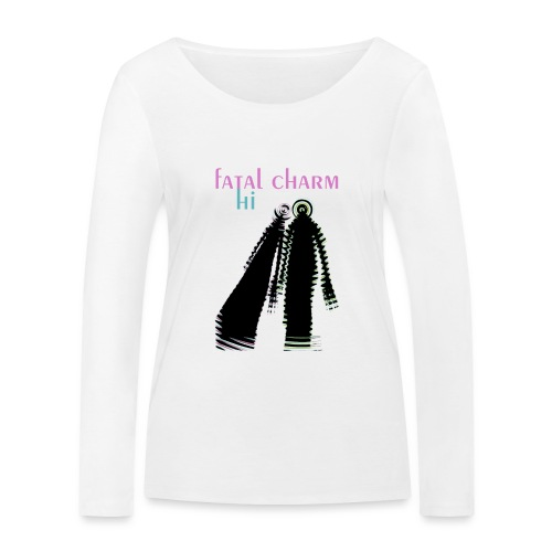 fatal charm - hi album cover art - Women's Organic Longsleeve Shirt by Stanley & Stella