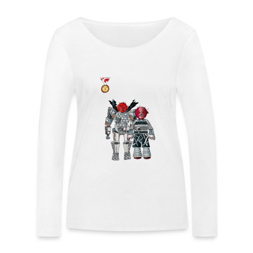 Trashcans - Frauen Bio-Langarmshirt von Stanley & Stella