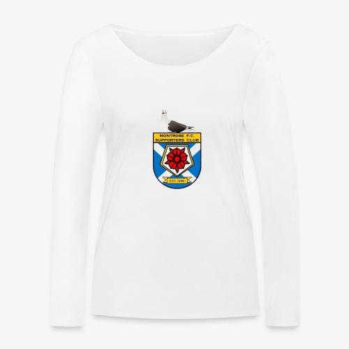 Montrose FC Supporters Club Seagull - Women's Organic Longsleeve Shirt by Stanley & Stella