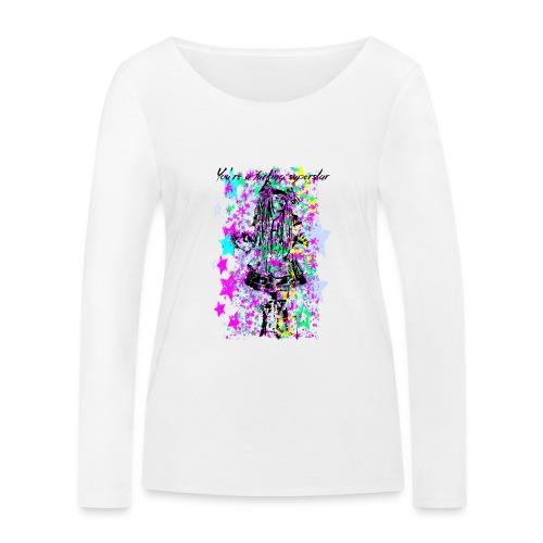 SUPERSTAR unisex - Camiseta de manga larga ecológica mujer de Stanley & Stella