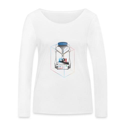 New Logo CPI - T-shirt manches longues bio Stanley & Stella Femme