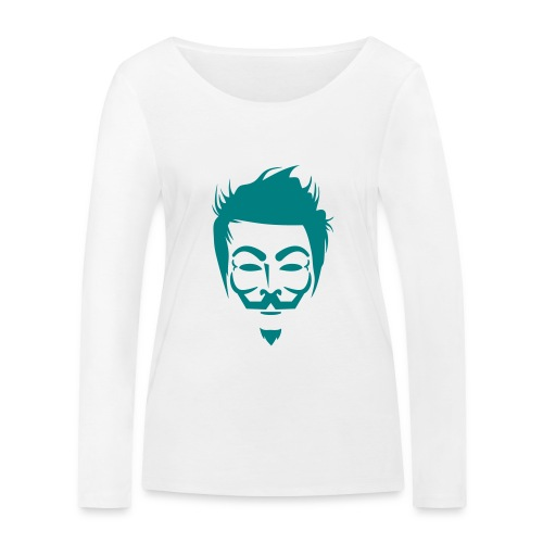Anonymous Hipster - T-shirt manches longues bio Stanley & Stella Femme