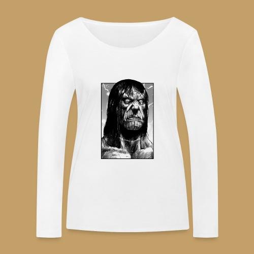 Frankenstein's Monster - Ekologiczna koszulka damska z długim rękawem Stanley & Stella