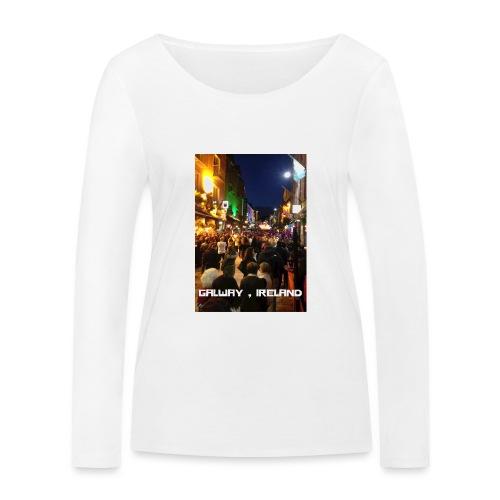 GALWAY IRELAND SHOP STREET - Women's Organic Longsleeve Shirt by Stanley & Stella