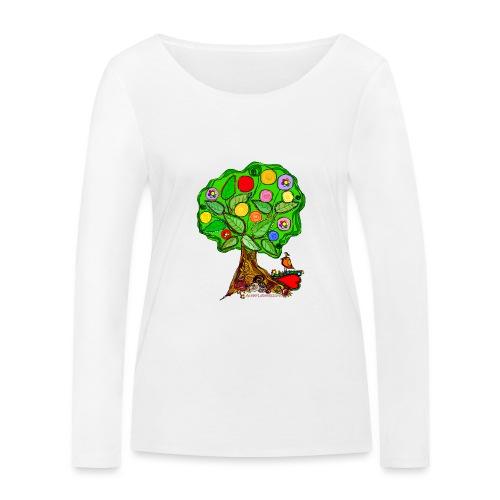 LebensBaum - Frauen Bio-Langarmshirt von Stanley & Stella