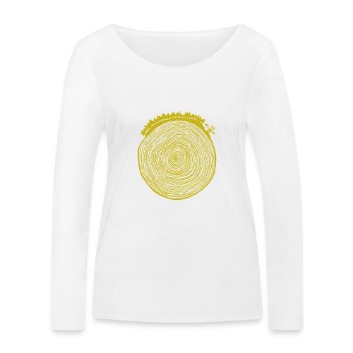 Kattoo Gelb - Frauen Bio-Langarmshirt von Stanley & Stella
