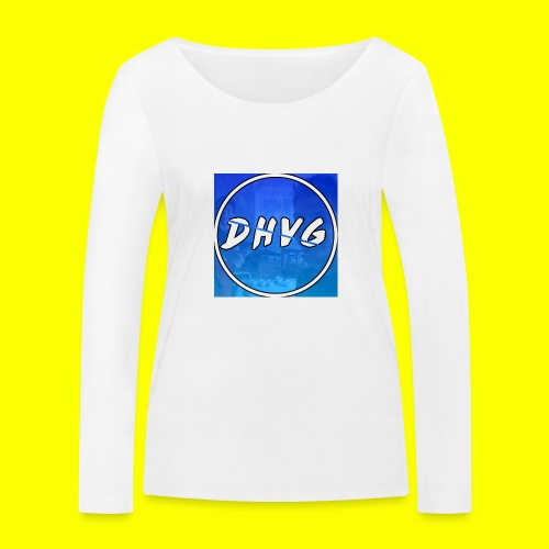 DusHeelVeelgamen New T shirt - Vrouwen bio shirt met lange mouwen van Stanley & Stella