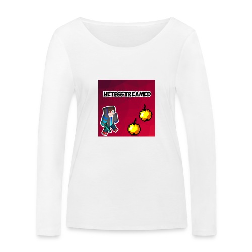Logo kleding - Vrouwen bio shirt met lange mouwen van Stanley & Stella