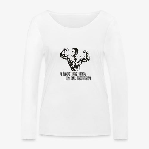 GYM - Camiseta de manga larga ecológica mujer de Stanley & Stella