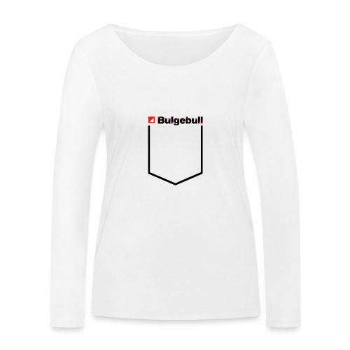BULGEBULL-POCKET2 - Camiseta de manga larga ecológica mujer de Stanley & Stella