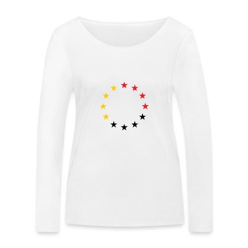 United Europe Tres - Frauen Bio-Langarmshirt von Stanley & Stella