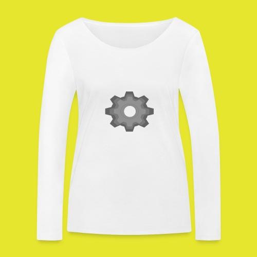 kugghjul - Ekologisk långärmad T-shirt dam från Stanley & Stella