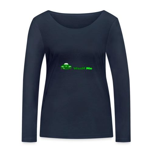 wash me - Women's Organic Longsleeve Shirt by Stanley & Stella