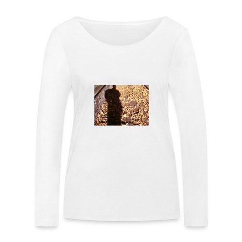 THE GREEN MAN IS MADE OF AUTUMN LEAVES - Women's Organic Longsleeve Shirt by Stanley & Stella