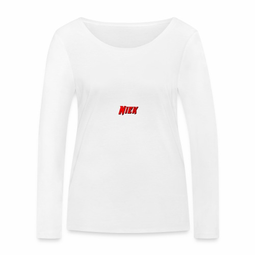 Niek Red - Vrouwen bio shirt met lange mouwen van Stanley & Stella