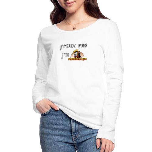 J'peux pas j'ai PB - T-shirt manches longues bio Stanley & Stella Femme