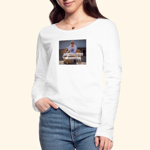 en un mundo de perros con borja capponi - Camiseta de manga larga ecológica mujer de Stanley & Stella