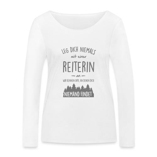 Vorschau: Reiterin - Frauen Bio-Langarmshirt von Stanley & Stella
