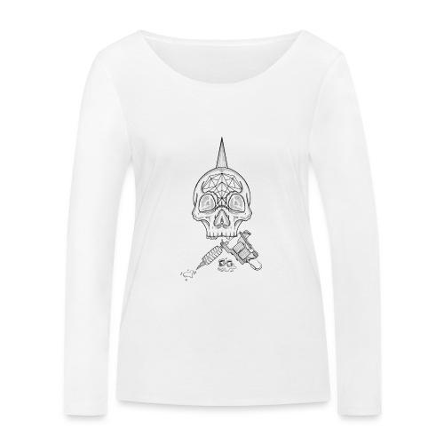 Skull tattoo - T-shirt manches longues bio Stanley & Stella Femme