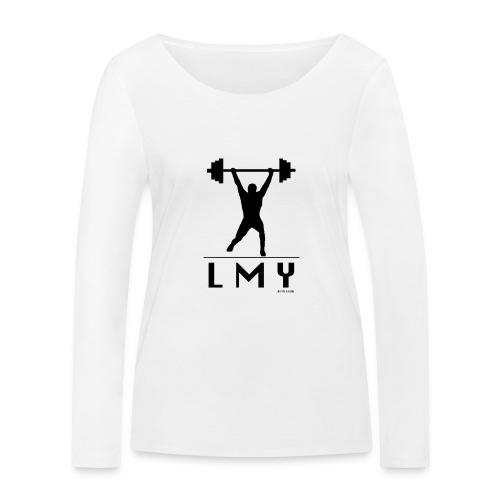 170106 LMY t shirt vorne png - Frauen Bio-Langarmshirt von Stanley & Stella